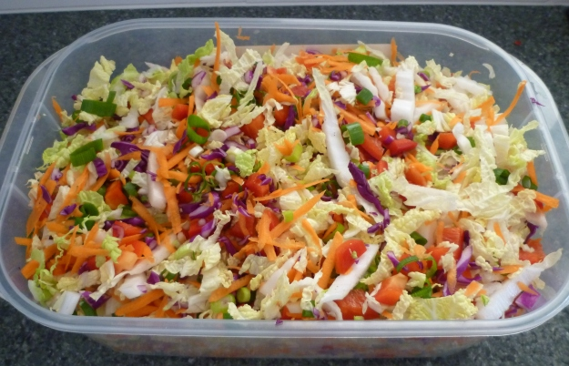 cabbage salad contianer