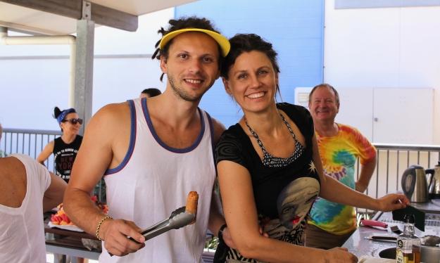 Lena & Igor do BBQ